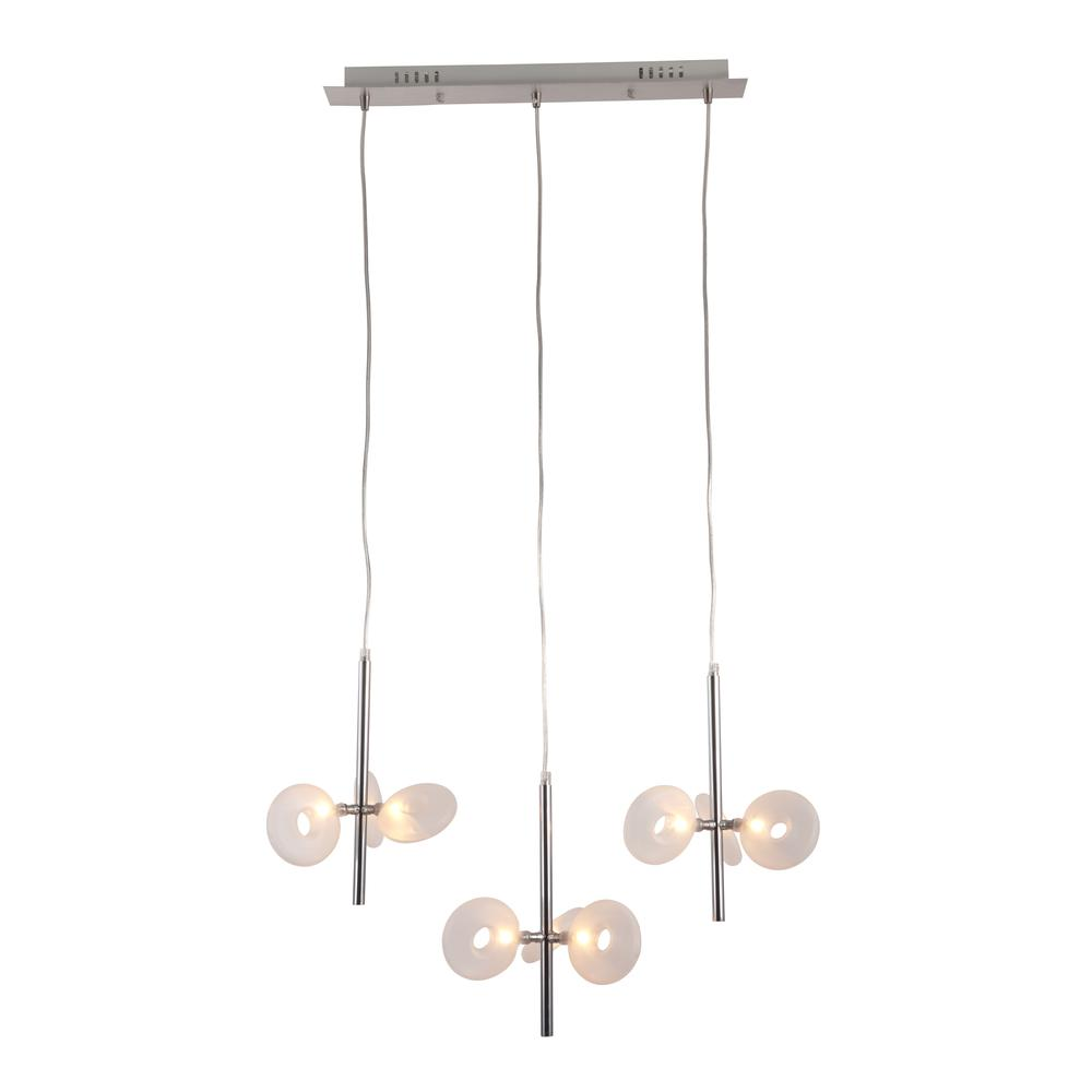 Ceiling Lamp Chrome. Picture 2