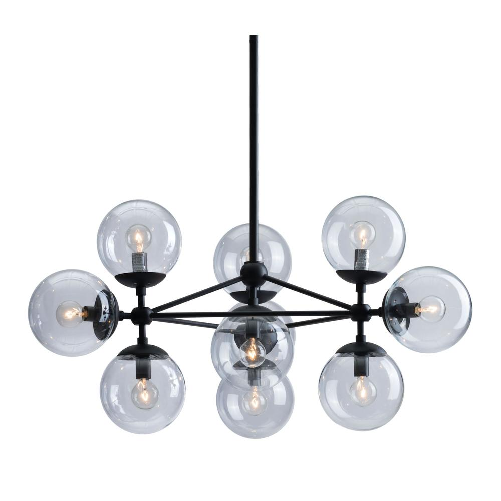 Belfast Ceiling Lamp Black. Picture 1