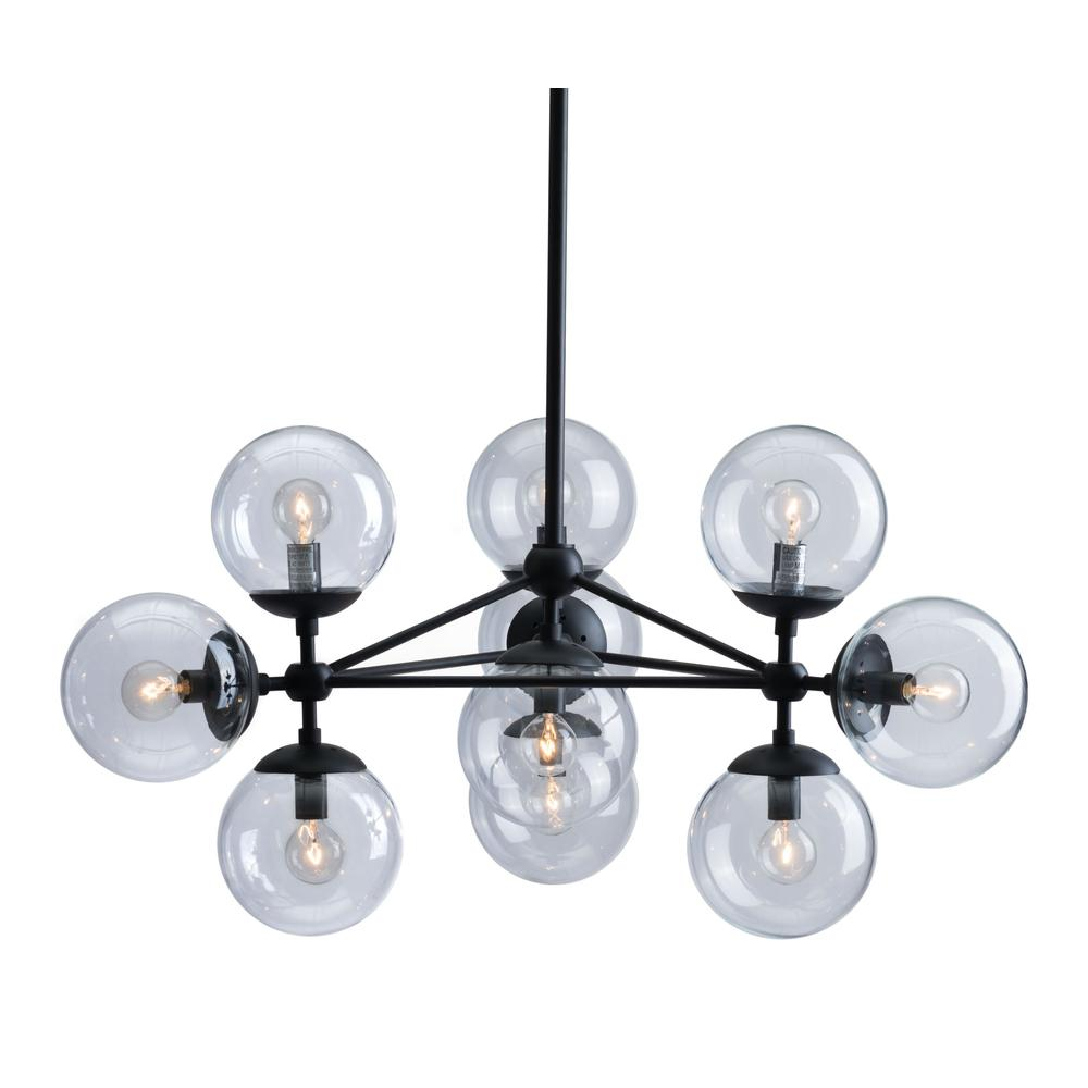 Belfast Ceiling Lamp Black. Picture 3