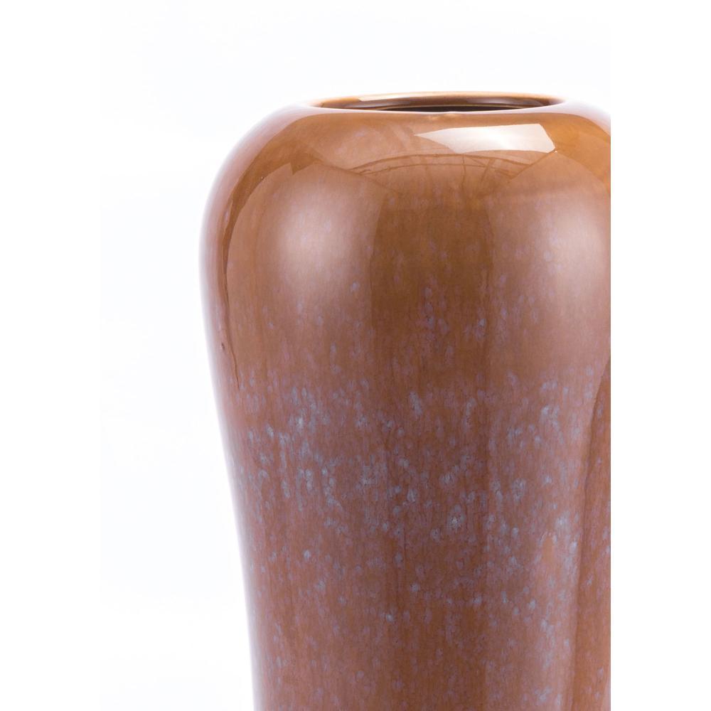 Allium Tall Vase Brown. Picture 3