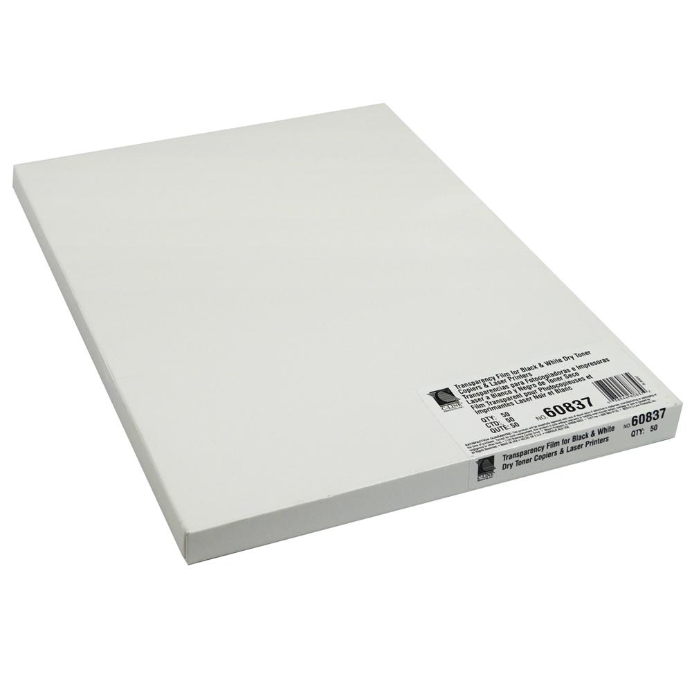 Plain Paper Copier Film, Copiers and Laser Printers, 8 1/2 x 11, 50/BX. Picture 4