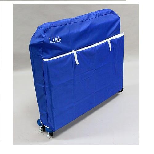 Nylon crib cover, Blue. Picture 1