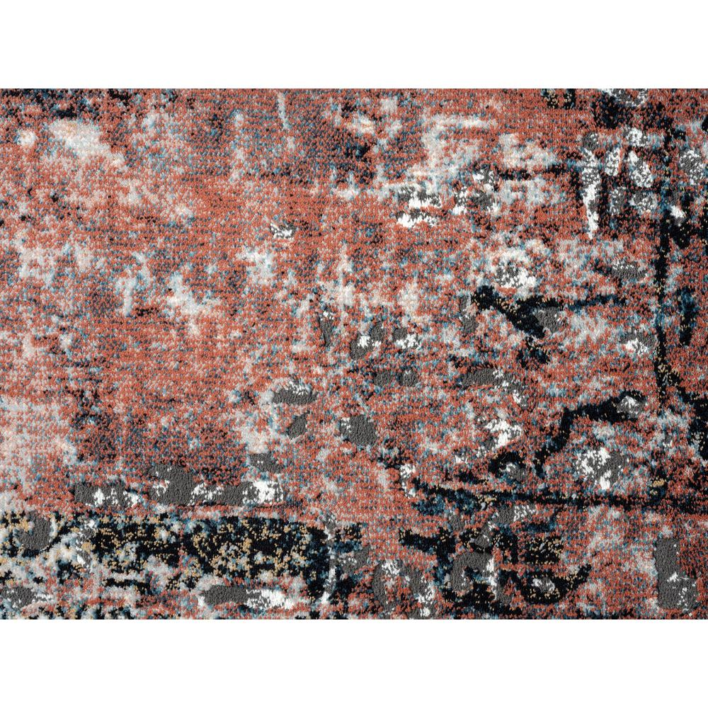 Abani Rugs Azure AZR240A Contemporary Warm Rust Area Rug - 6 x 9. Picture 7