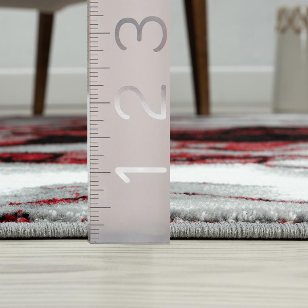 Abani Rugs ARTO Contemporary Rectangle Rug - ART140D-4. Picture 6
