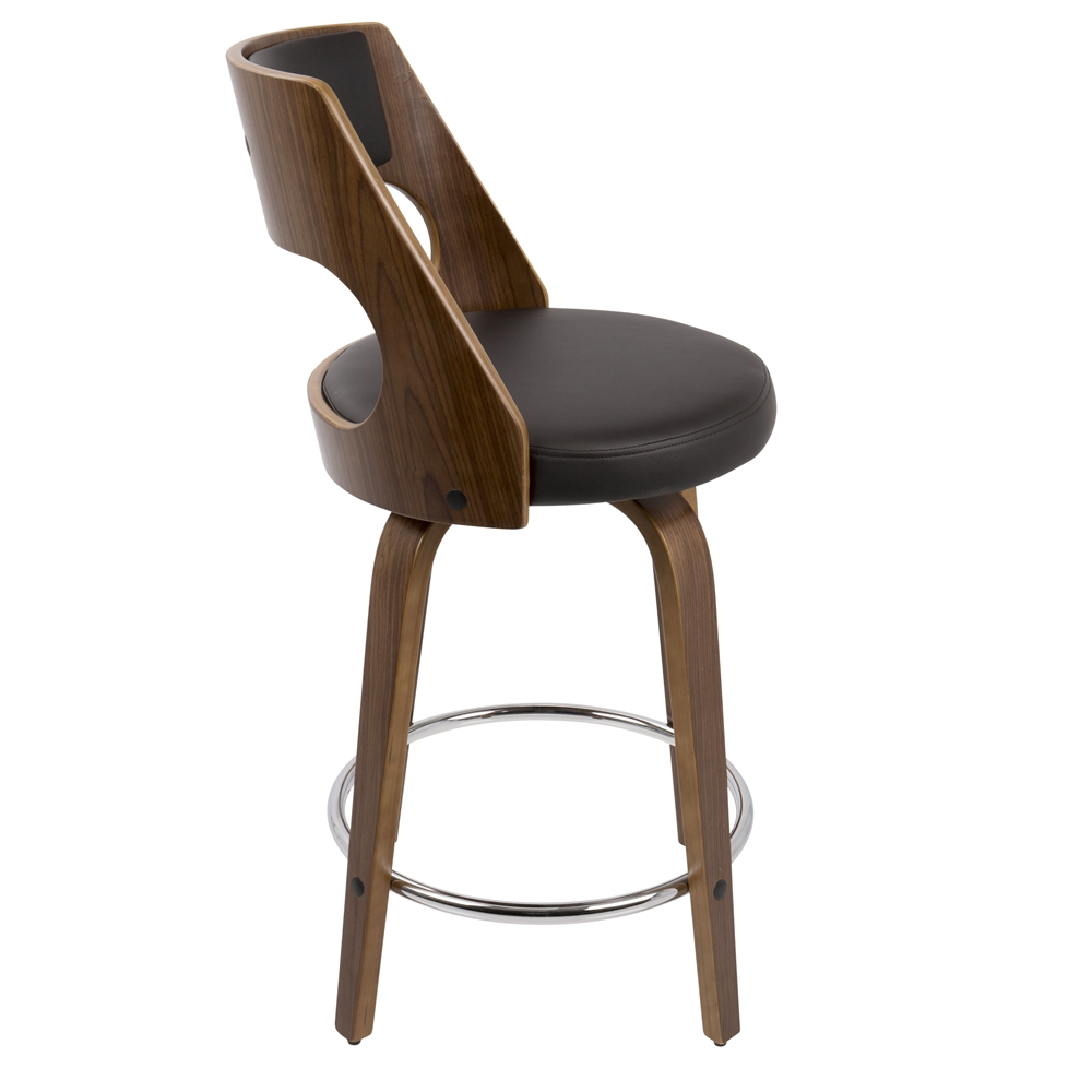 Cecina Fixed Height Mid Century Modern Counter Stool In  : 456811444452181 from www.bisonoffice.com size 1000 x 1000 jpeg 157kB