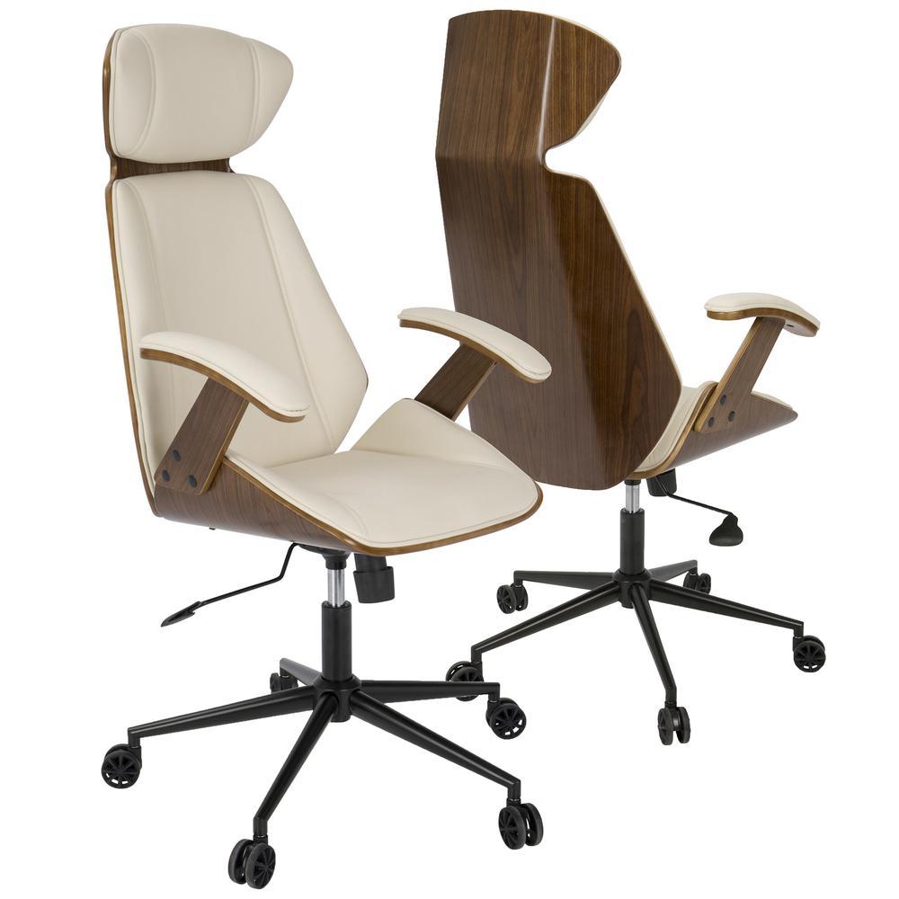 Spectre Mid Century Modern Adjustable Office Chair In