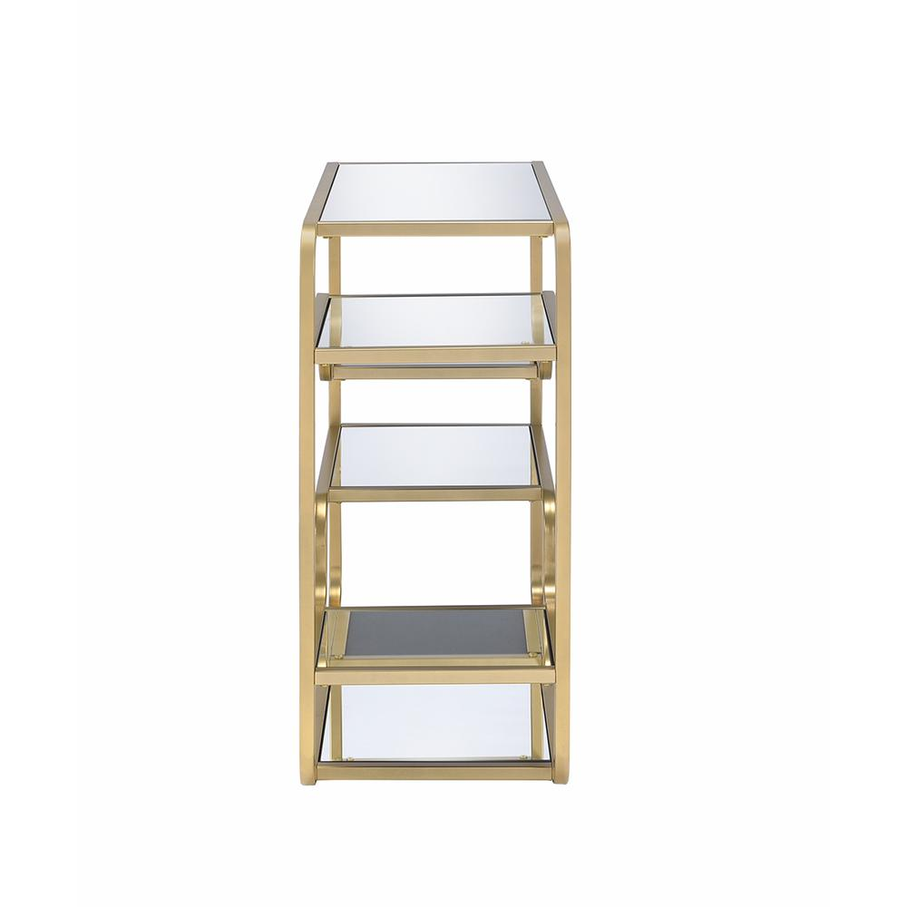 Modern yet Retro Gold And Glass Bar Table - 319009. Picture 8