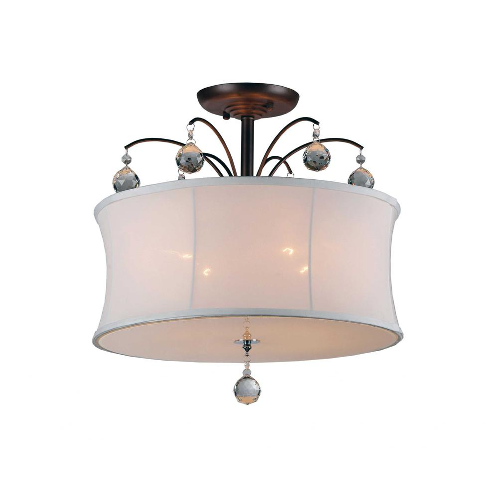 Crystal Fountain Pendant Lamp - 293125. Picture 1