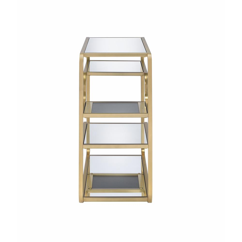 Modern yet Retro Gold And Glass Bar Table - 319009. Picture 2