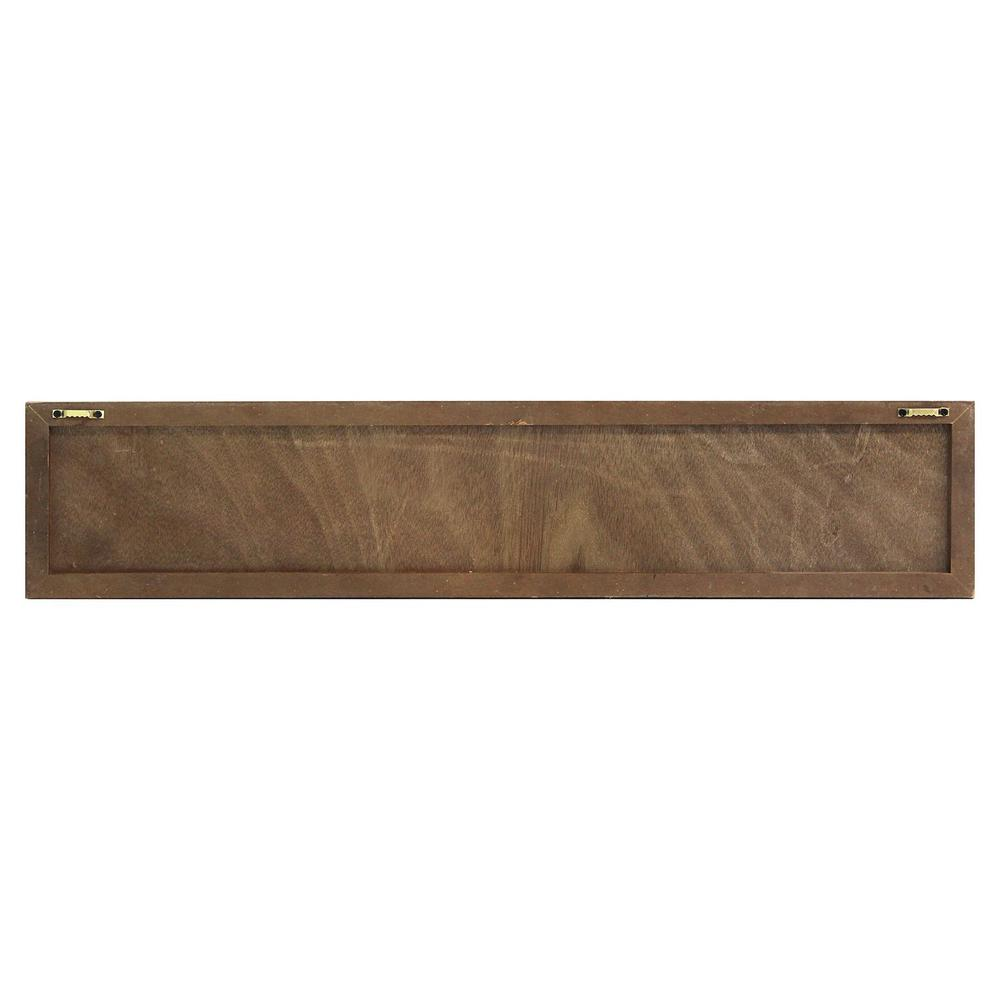 Distressed Home Sweet Home Wood Coat Rack Wall Hanging - 321270. Picture 5