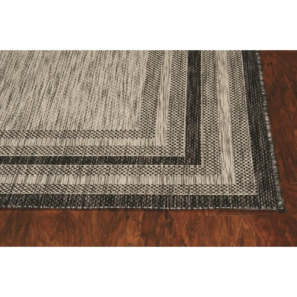 3' x 5' Grey Polypropylene Area Rug - 375209. Picture 2