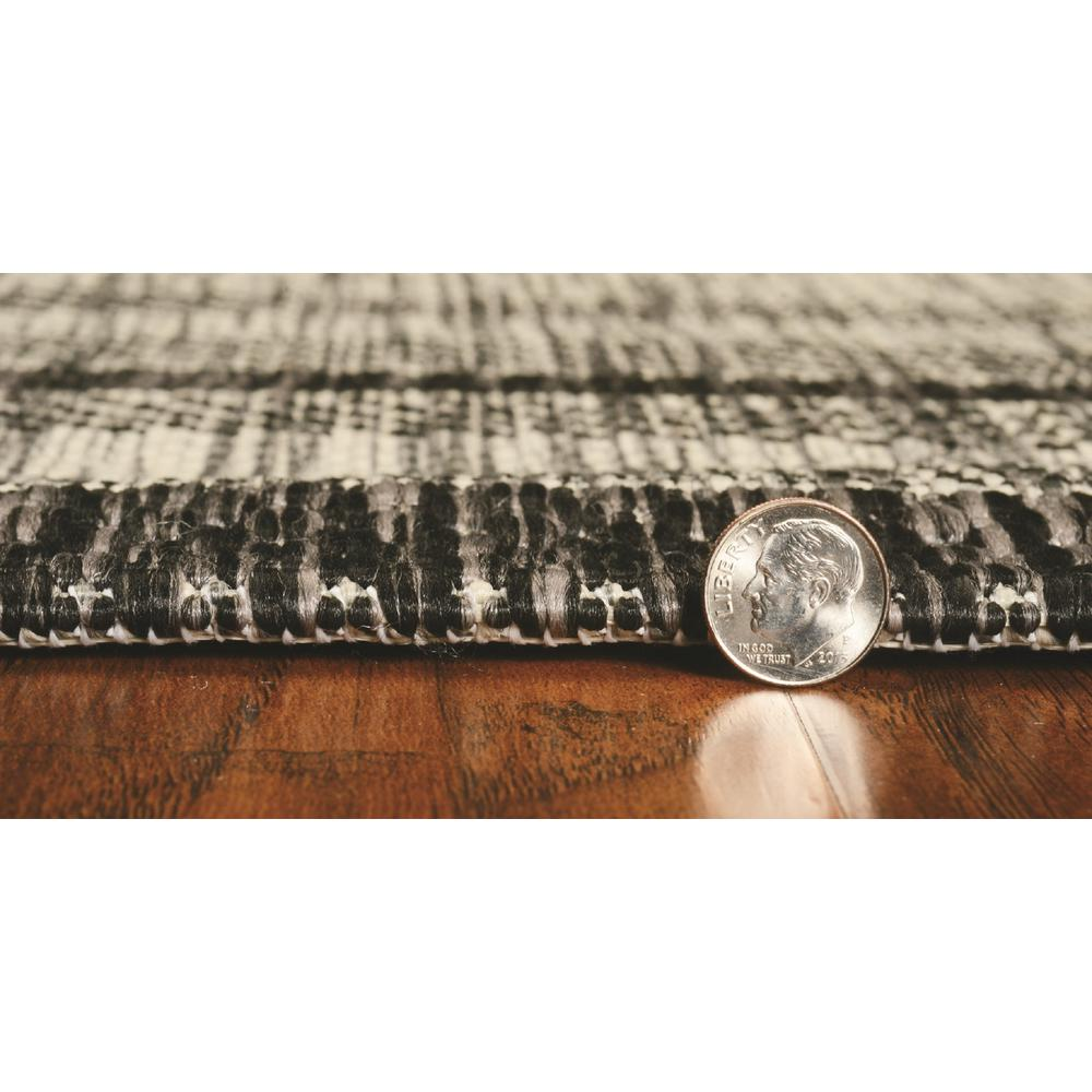 3' x 5' Grey Polypropylene Area Rug - 375209. Picture 3