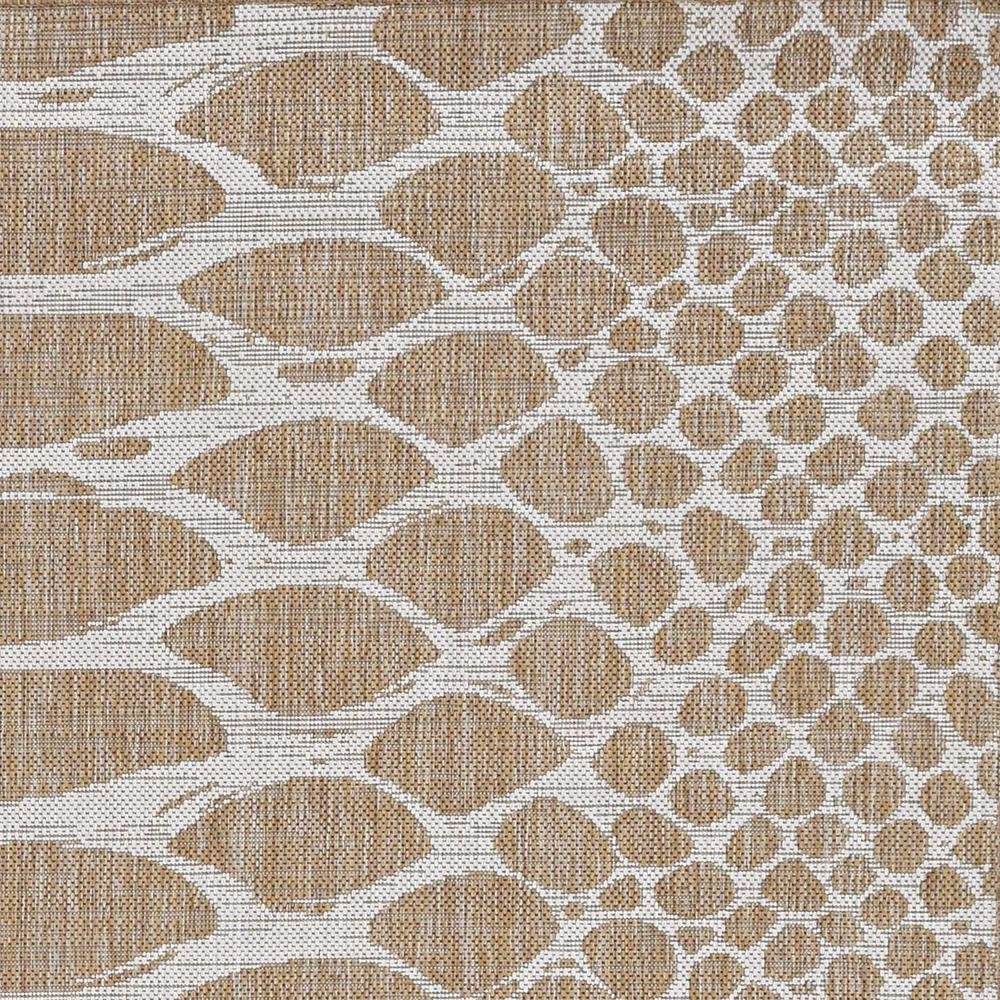 5' x 8' Natural Animal Print Area Rug - 375249. Picture 1
