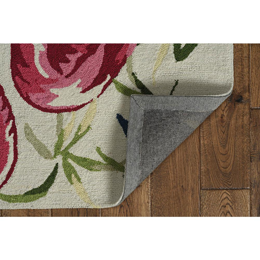 5' x 7' Ivory or Pink Flamingo Indoor Area Rug - 375441. Picture 4