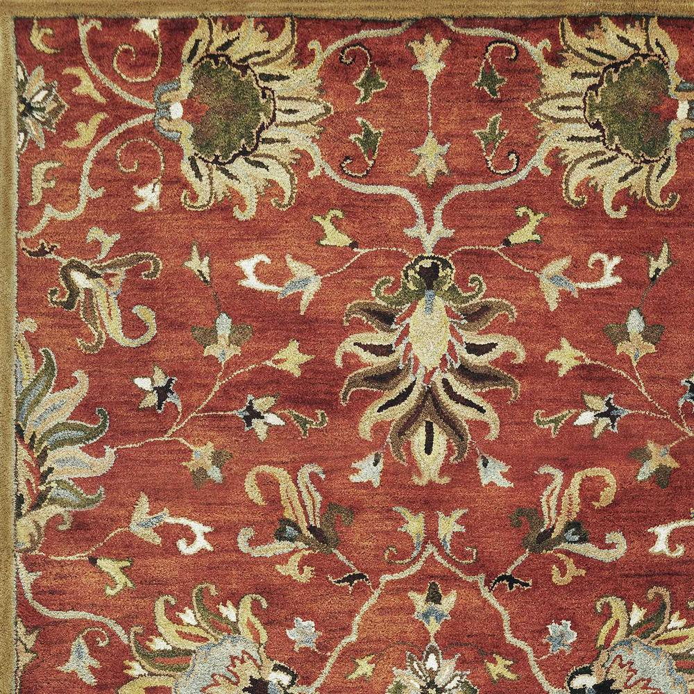 """60"""" X 96"""" Sienna Wool Rug - 375526. Picture 3"""
