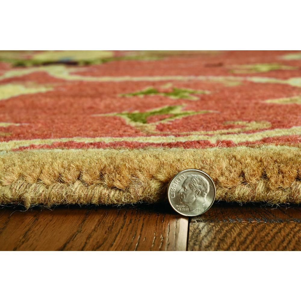 """60"""" X 96"""" Sienna Wool Rug - 375526. Picture 4"""