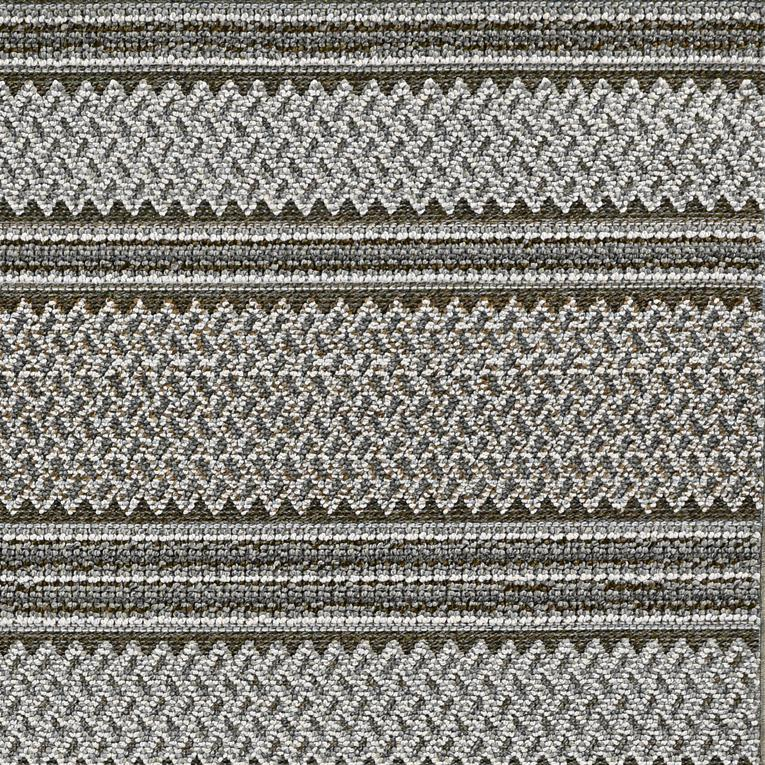 5' x 8' Grey Geometric Area Rug - 375548. Picture 1
