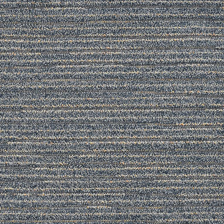 4'x6' Denim Blue Machine Woven UV Treated Abstract Lines Indoor Outdoor Area Rug - 375565. Picture 2