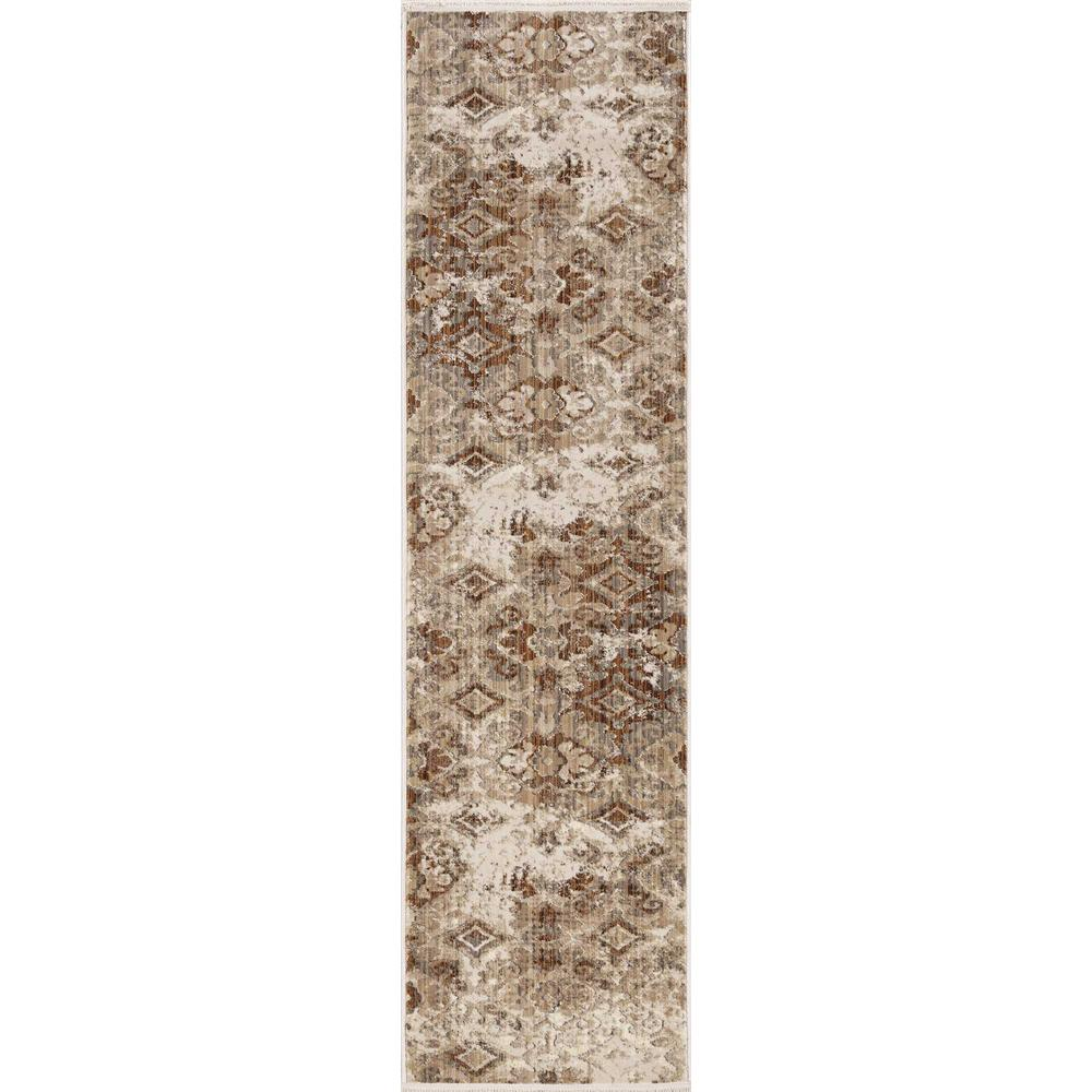 5' x 8' Sand Medallion Area Rug - 375644. Picture 3