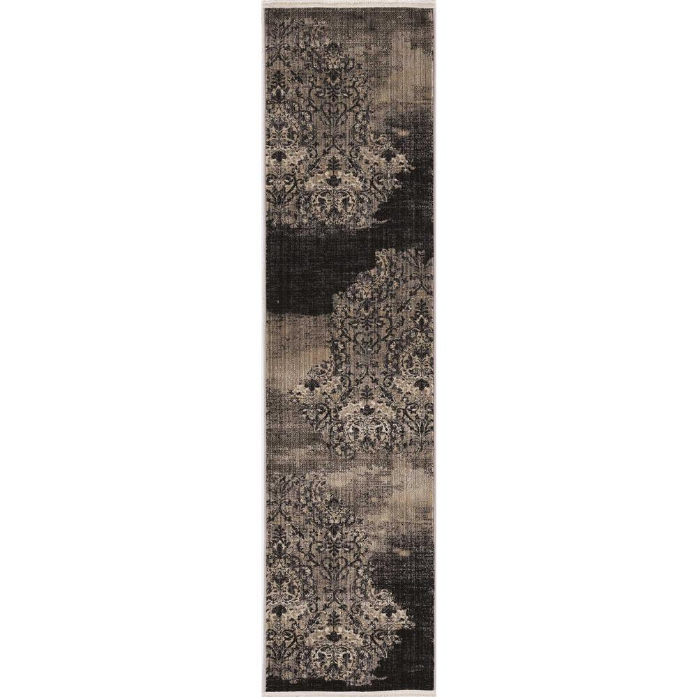 5' x 8' Blue Medallion Area Rug - 375656. Picture 3