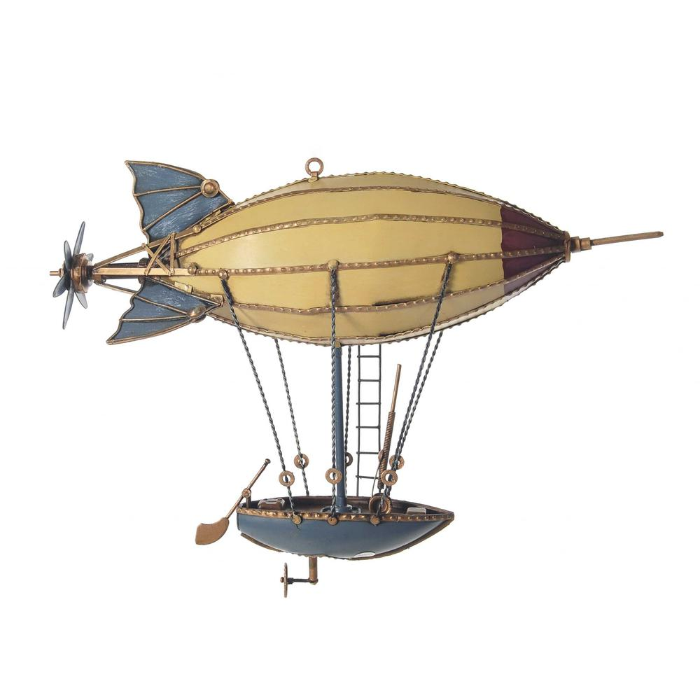 Steampunk Airship Metal Model - 376332. Picture 1