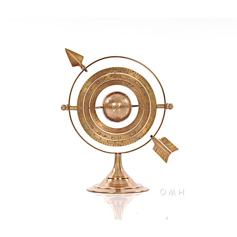 Armillary Brass with Bright Annealed Finish - 376335. Picture 1