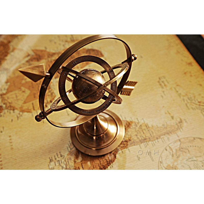 Armillary Brass with Bright Annealed Finish - 376335. Picture 4