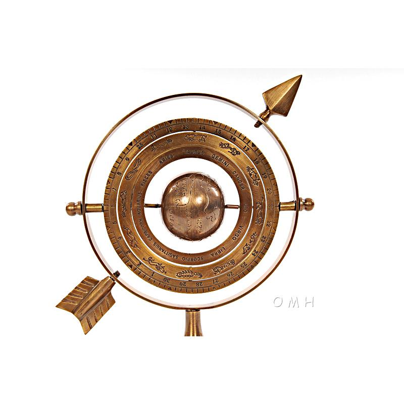 Armillary Brass with Bright Annealed Finish - 376335. Picture 6