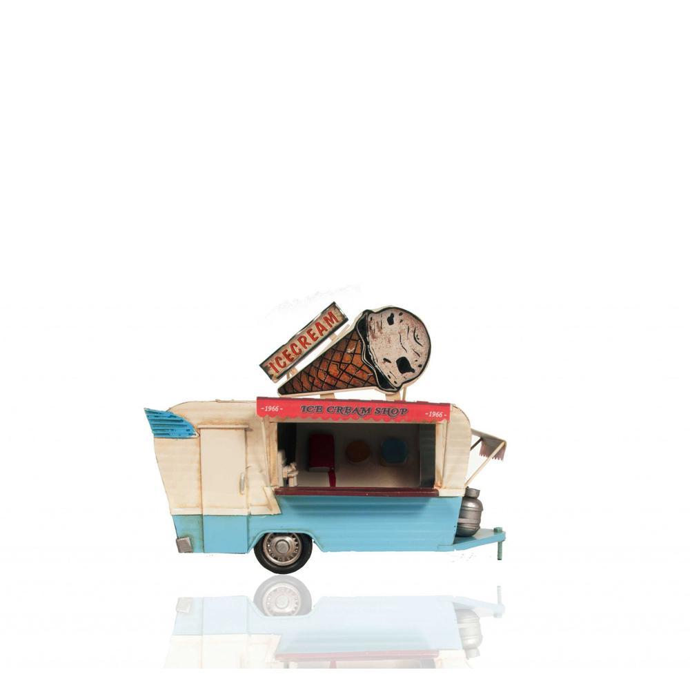 Ice Cream Trailer Metal Model - 376342. Picture 1