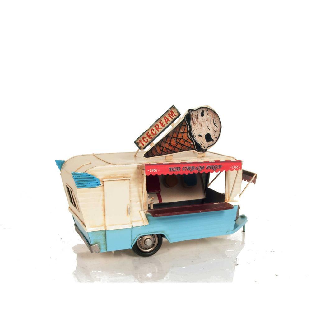 Ice Cream Trailer Metal Model - 376342. Picture 2