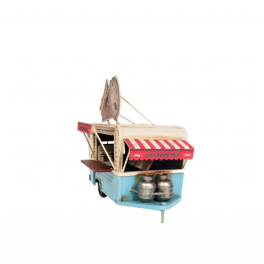 Ice Cream Trailer Metal Model - 376342. Picture 3