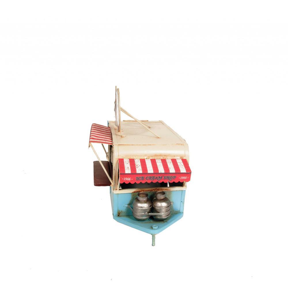 Ice Cream Trailer Metal Model - 376342. Picture 4