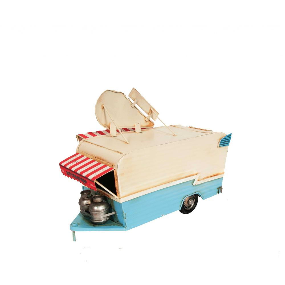 Ice Cream Trailer Metal Model - 376342. Picture 5
