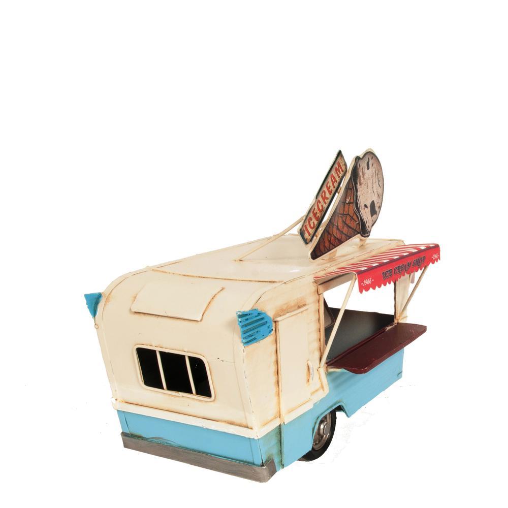 Ice Cream Trailer Metal Model - 376342. Picture 6