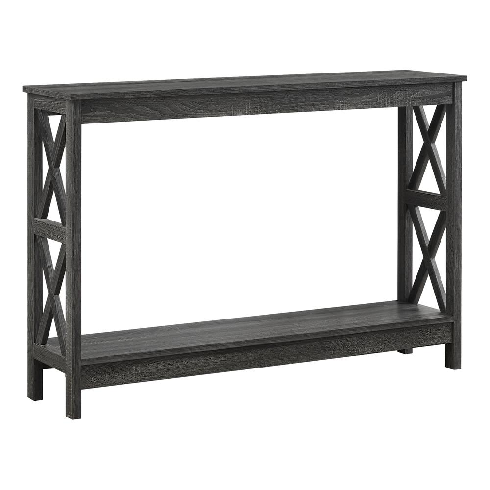 Rectangular Grey Hall Console Accent Table - 376496. Picture 1