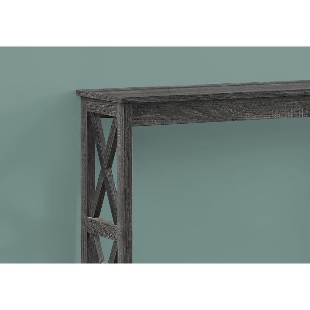 Rectangular Grey Hall Console Accent Table - 376496. Picture 2