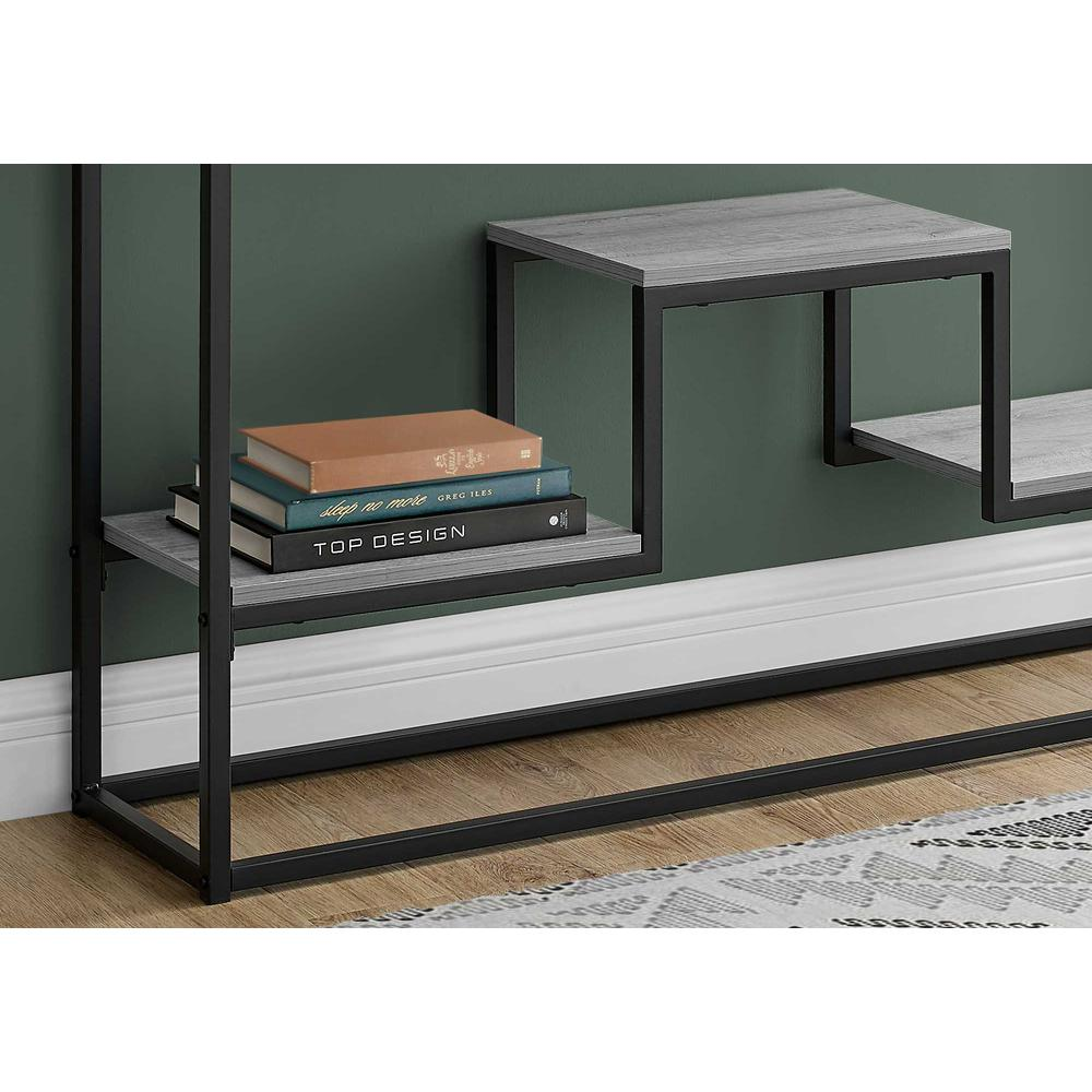 """48"""" Rectangular Grey Wash Finish Hall Console Accent Table - 376514. Picture 2"""