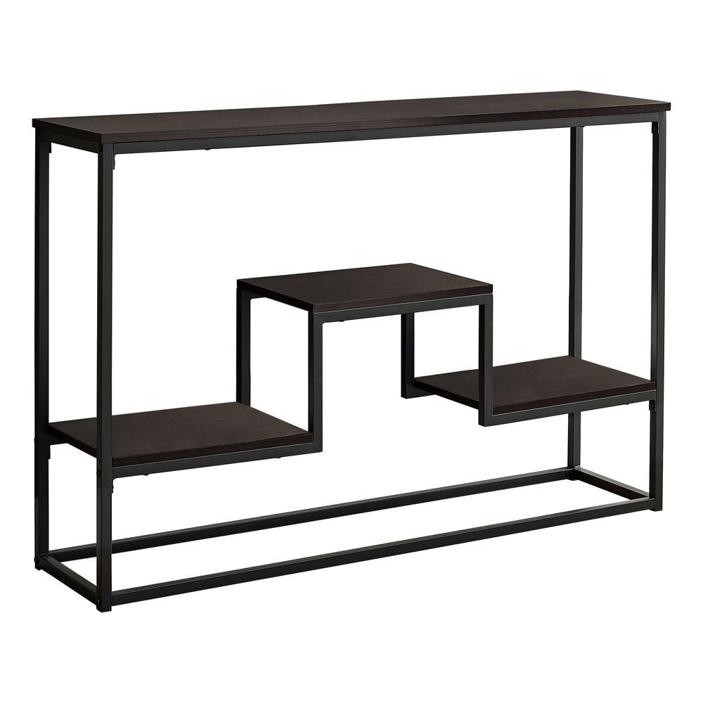"48"" Rectangular Espresso Hall Console Accent Table - 376516. Picture 1"