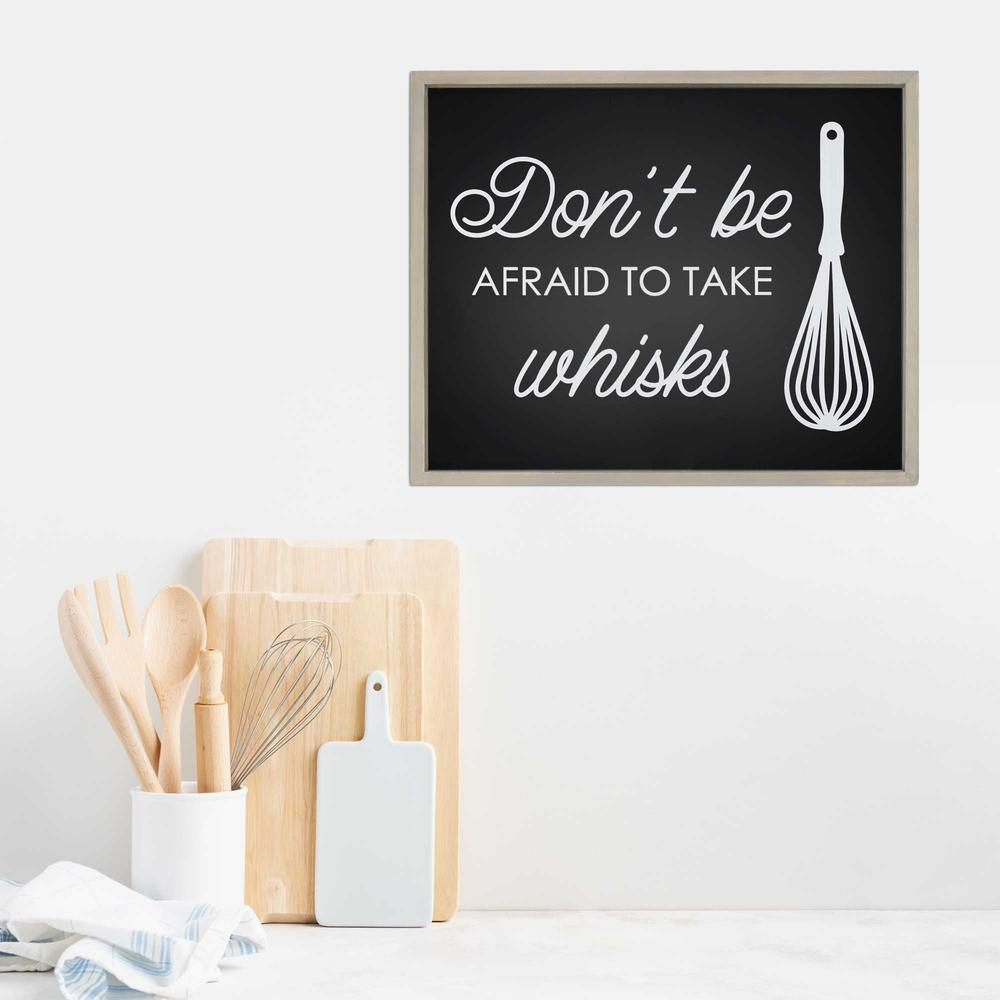 Don't Be Afraid to Take Whisks Wall Art - 376627. Picture 2