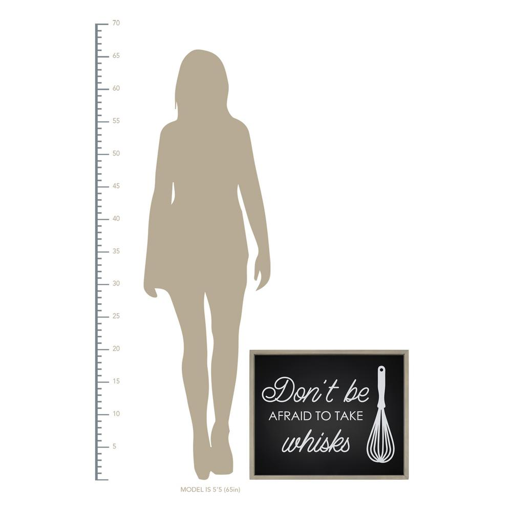Don't Be Afraid to Take Whisks Wall Art - 376627. Picture 4