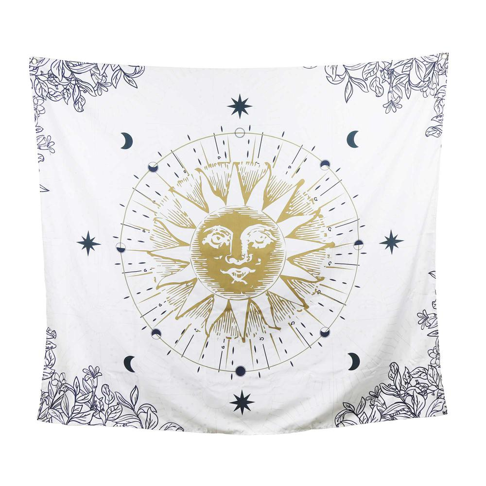Sun Moon and Stars Celestial Tapesty Wall Hanging - 376632. Picture 1