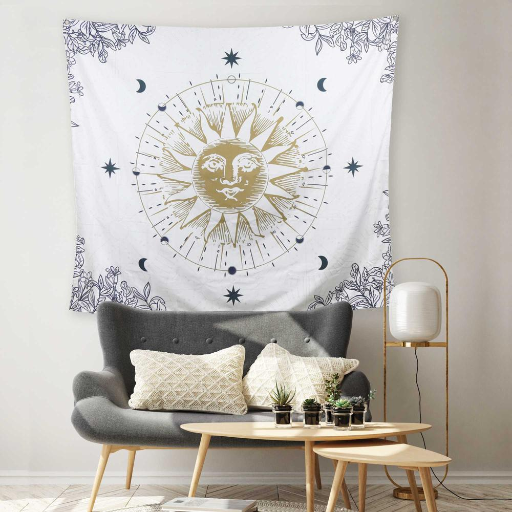 Sun Moon and Stars Celestial Tapesty Wall Hanging - 376632. Picture 2