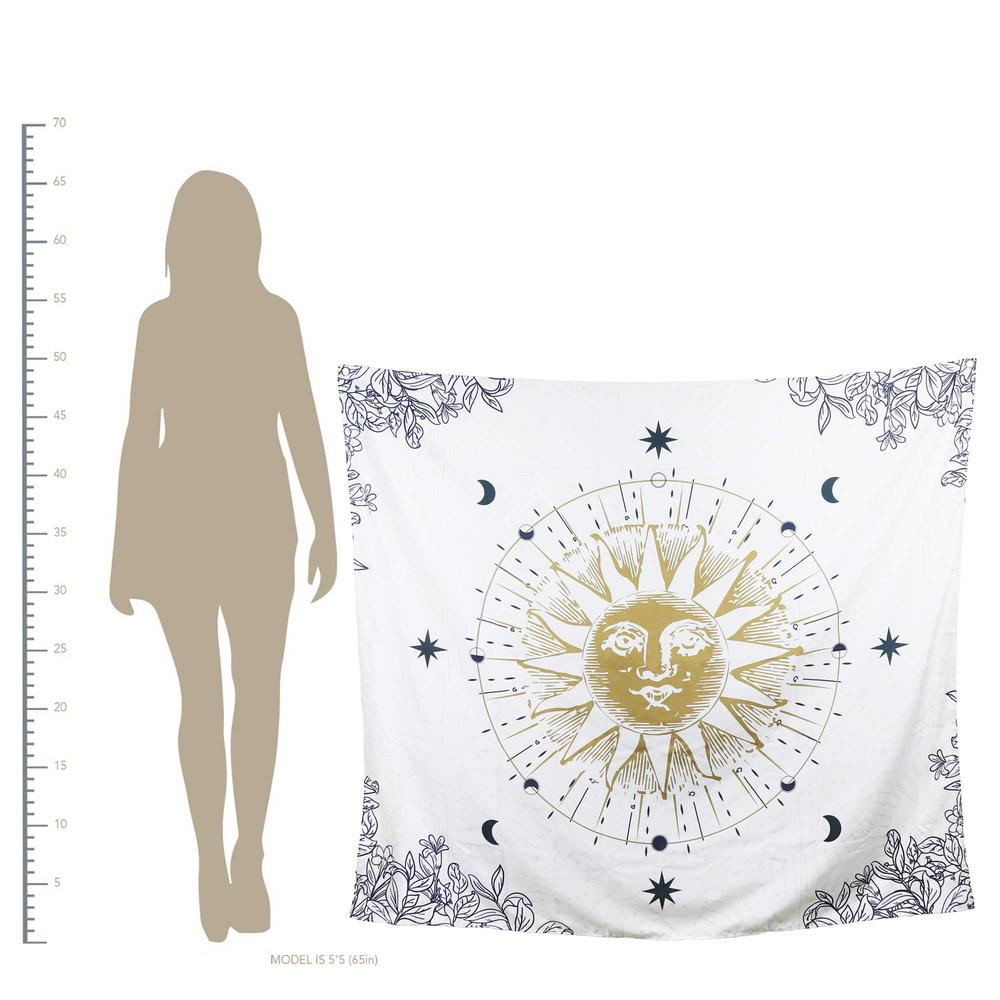 Sun Moon and Stars Celestial Tapesty Wall Hanging - 376632. Picture 4