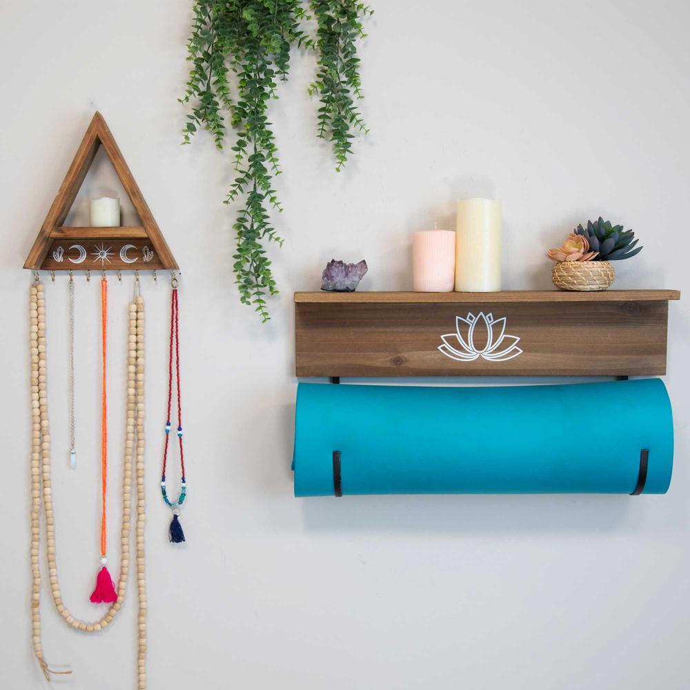 Yoga Mat Shelf with J-hooks - 376633. Picture 2