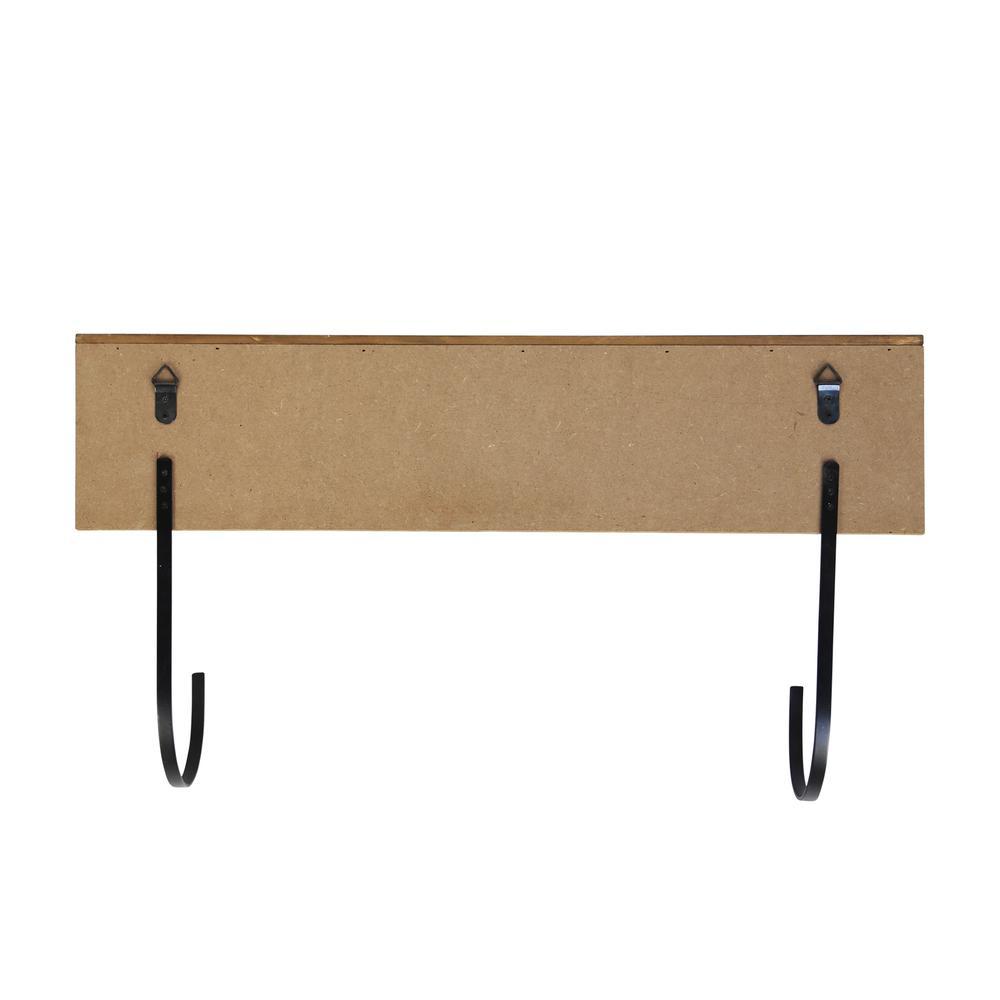 Yoga Mat Shelf with J-hooks - 376633. Picture 5