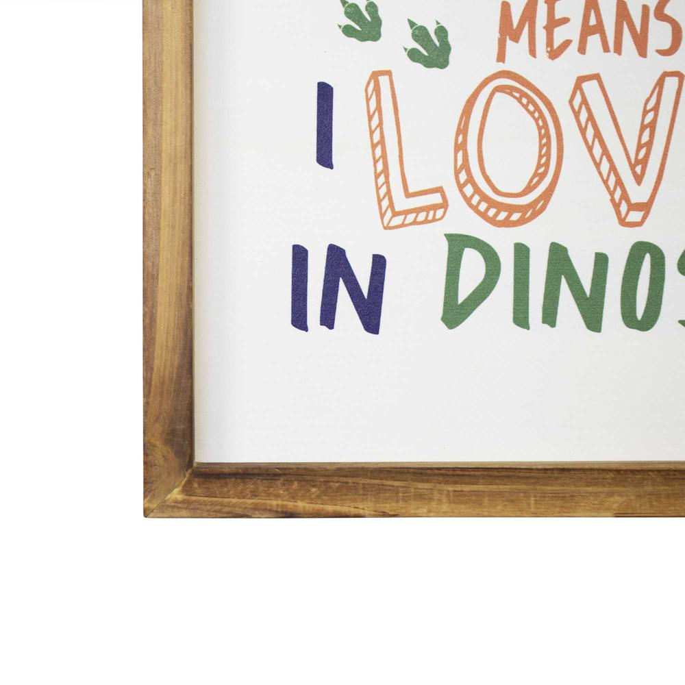 Dinosaur Rawr Quote Wall Art - 376639. Picture 3