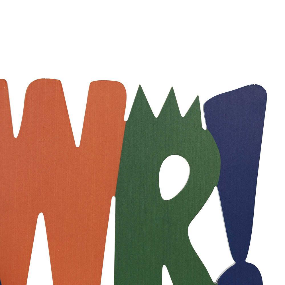 RAWR Laser Cut Letters Wall Art - 376640. Picture 3