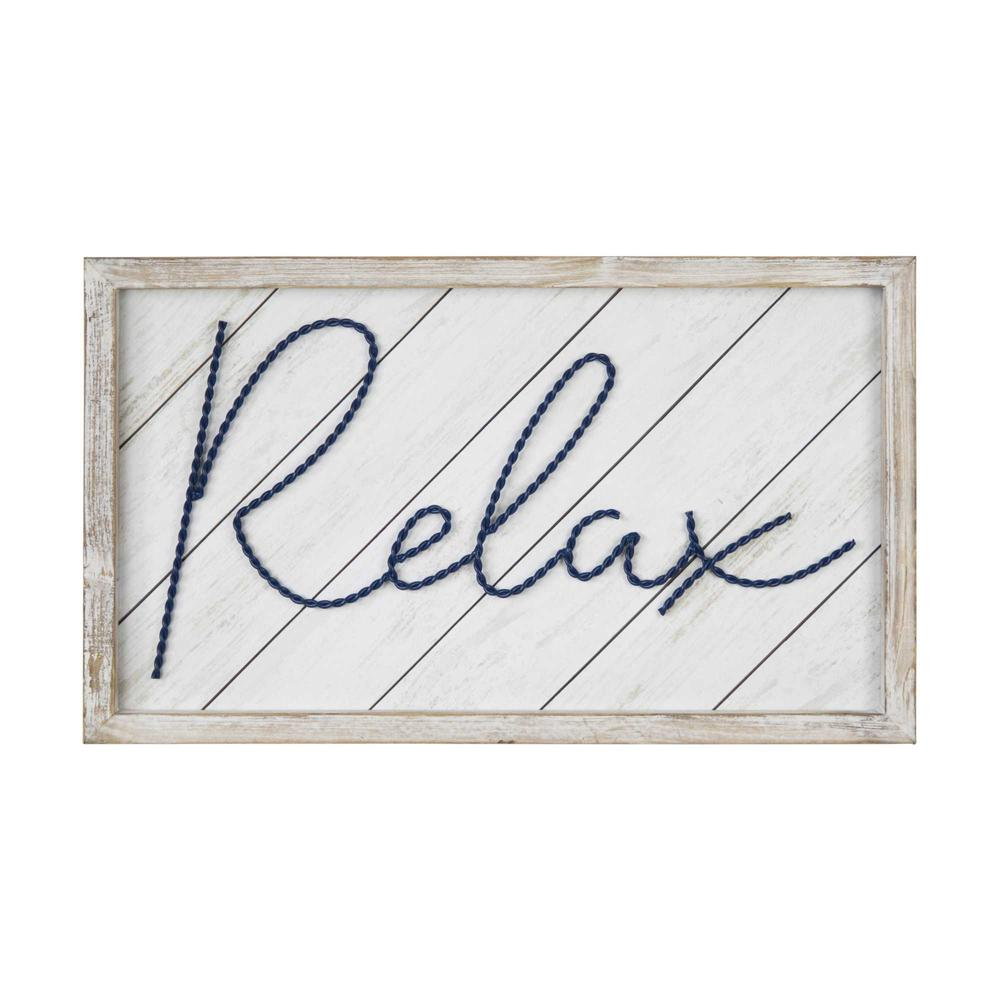 """20"""" x 12"""" """"Relax"""" Framed Wall Art - 376653. Picture 1"""