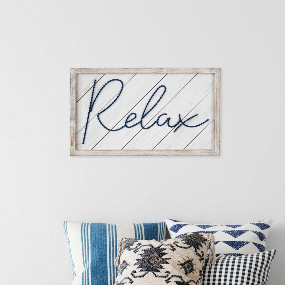 """20"""" x 12"""" """"Relax"""" Framed Wall Art - 376653. Picture 6"""
