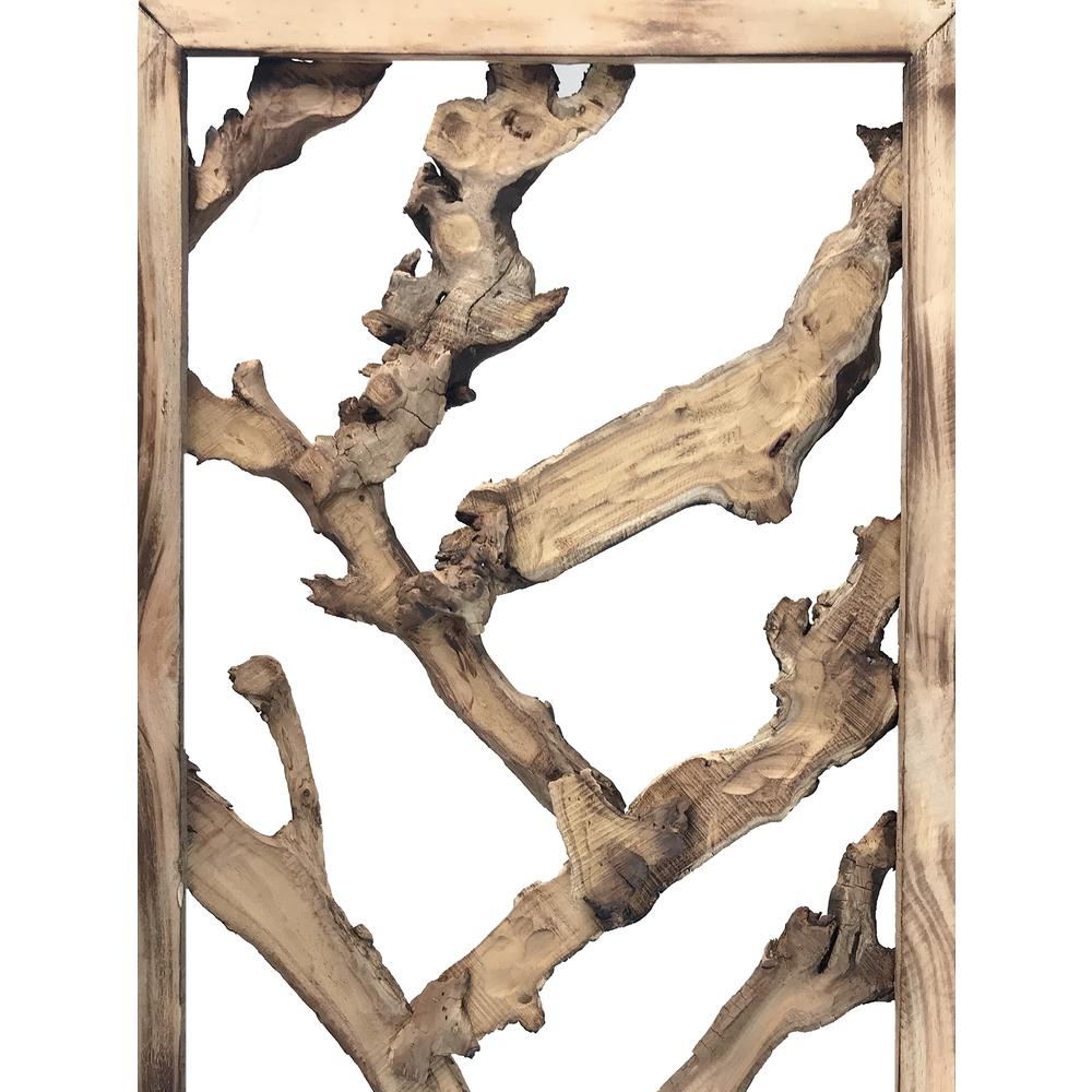 3 Panel Room Divider with Tropical leaf - 376797. Picture 5